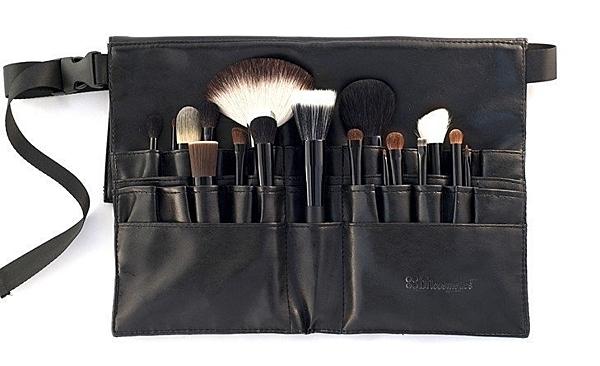 美國 BH Cosmetics 黑色專業化妝刷腰包 新娘秘書 /彩妝師必備工具腰包