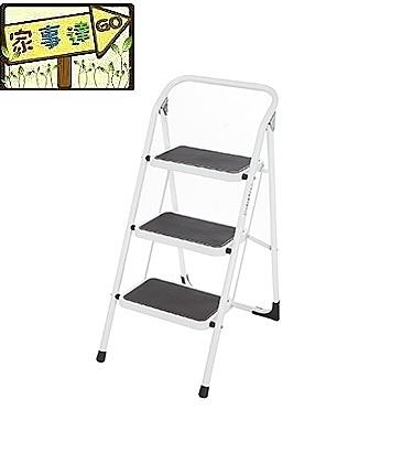 [家事達]巧登欣 CTH--BT-03  百合梯-3階梯 特價 可承載重量120公斤 洗車梯 工作梯 手扶梯
