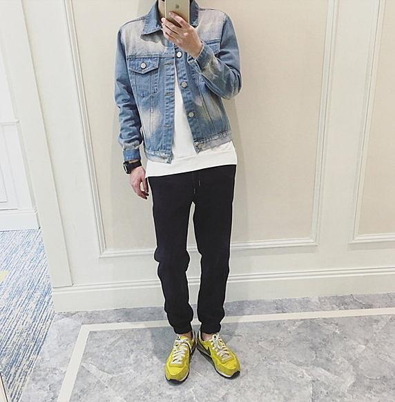 FIND.韓國 牛仔 襯衫 外套 單寧 HM  GU 女神 短版牛仔 夾克