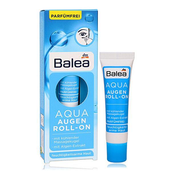 德國BALEA 藍藻精華保濕滾珠眼霜15ML【德潮購】