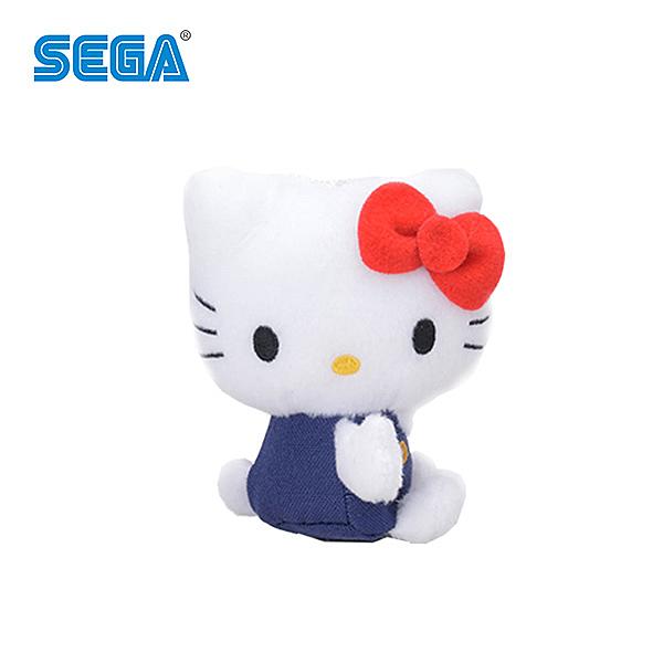 右側坐款【日本正版】凱蒂貓 吊飾 擺飾 Hello Kitty 三麗鷗 SEGA - 157207