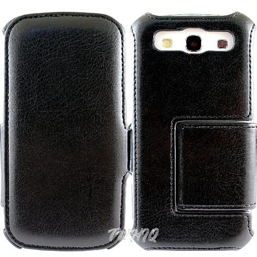 Samsung Galaxy S3 i9300 側掀(立架)皮套◆贈送! 專用型式 皮套◆