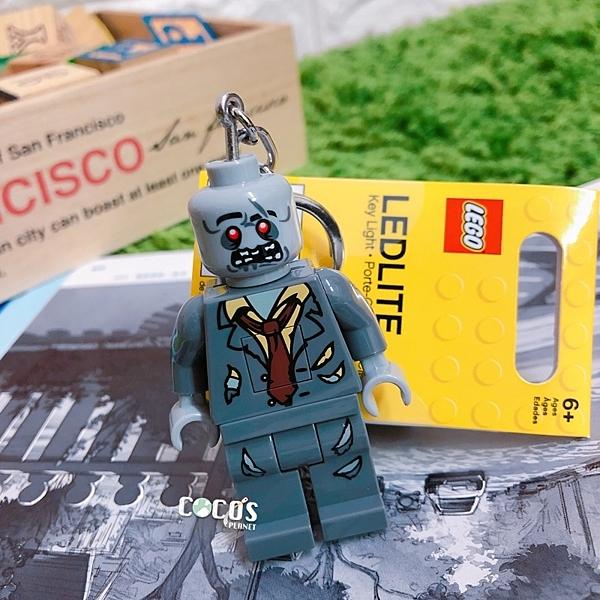 樂高鑰匙圈 怪物戰士 僵屍 LED 人偶造型鑰匙圈燈 COCOS LG320