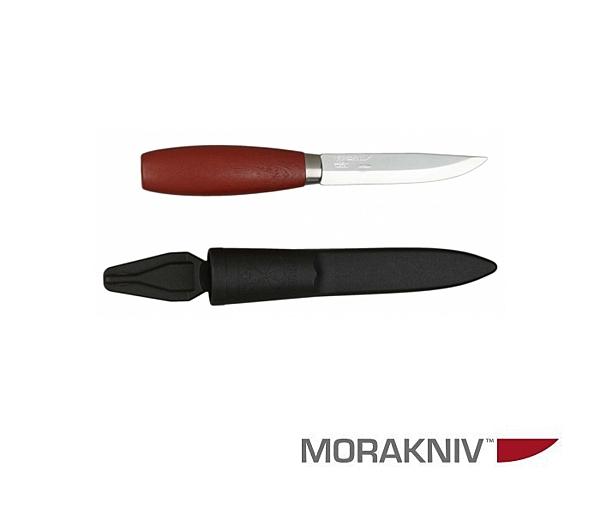 丹大戶外用品【MORAKNIV】瑞典   CLASSIC 1 高碳鋼經典木工刀 赭紅 1-0001
