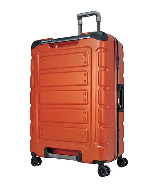 CROWN皇冠  Traveler Station 悍馬鋁框箱 行李箱/旅行箱30吋-橘色 CFE258