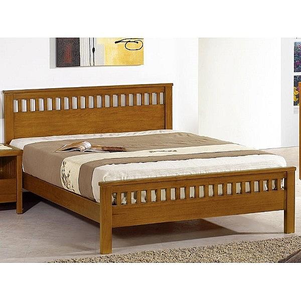 床架 床台 SB-520-8 李維5尺柚木雙人床 (不含床墊) 【大眾家居舘】