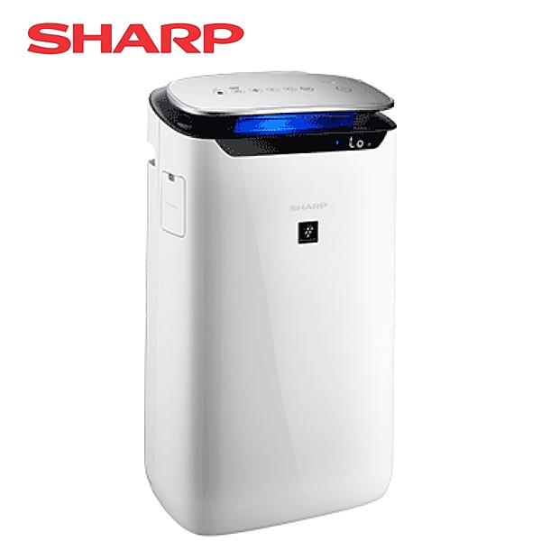 [SHARP 夏普]15坪自動除菌離子空氣清淨機 FP-J60T-W
