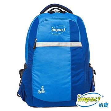 IMPACT 怡寶 天才調整型護脊書包-寶藍 IM00220RB