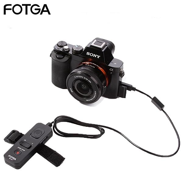 又敗家Fotga索尼Sony副廠快門線遙控器RM-VPR1錄影zoom變焦in out適a6500 a6300 a5100 RX0 RX1 RX10 II IV RX100 III 3 4