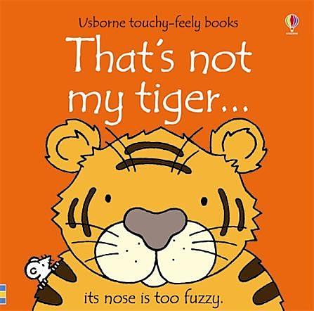 That's Not My Tiger 那不是我的老虎觸摸書