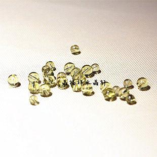 黃水晶散珠 特價20顆