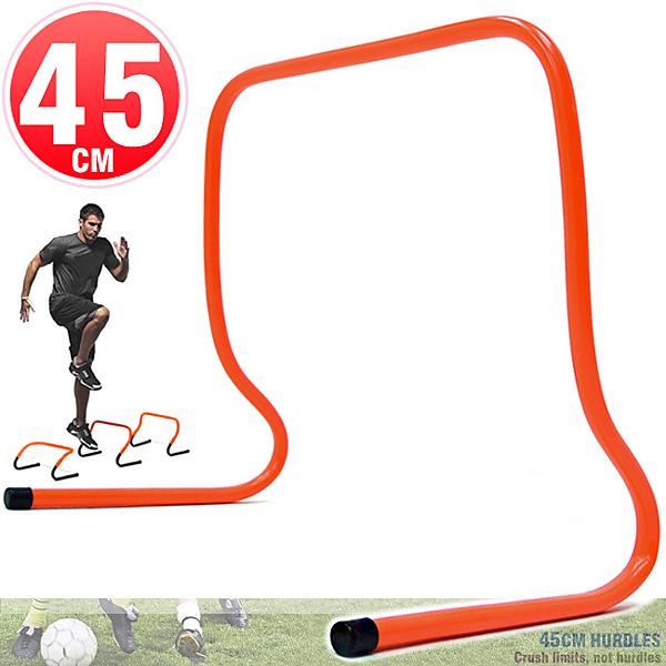 一體成形高低梯45CM速度跨欄訓練小欄架棒球障礙跳格欄田徑多功能架子運動健身器材推薦哪裡買ptt
