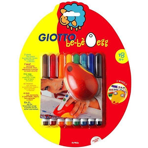 【義大利 GIOTTO】可洗式寶寶滑鼠塗鴉筆