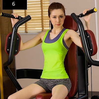 韓國春夏新款瑜伽服套裝三件套女短袖背心休閒運動跑步健身喻咖服   -cmx0025