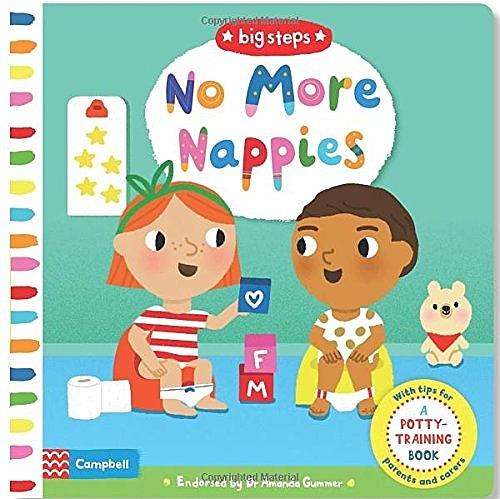 【戒尿布】BIG STEPS:NO MORE NAPPIES /硬頁操作書《主題:.自主管理》