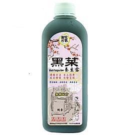 黑菜養生露  無糖配方 (1000ml) 12瓶  天然黑木耳 純素