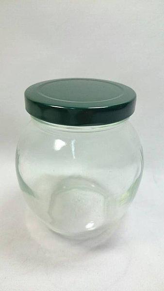 【 354CC蜂蜜瓶 】櫻桃瓶 玻璃罐 儲物罐 釀酒罐特級桃太郎 阿里山【八八八】e網購