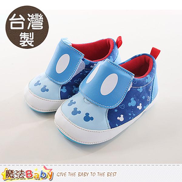 寶寶鞋 台灣製迪士尼米奇正版強止滑鞋 魔法Baby