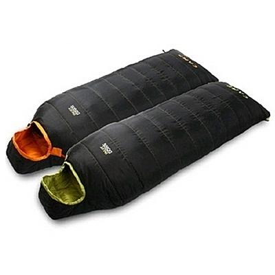 睡袋(單人)快速收納-500/700g羽絨可拼接戶外露營防水登山用品2色71q11[時尚巴黎]