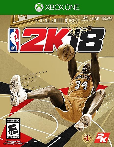 現貨 XBOX ONE  NBA 2K18  黃金傳奇珍藏版 中英文合版