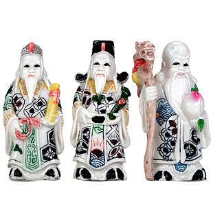 福祿壽三星擺件 佛像擺件 招財納福家居裝飾品工藝品