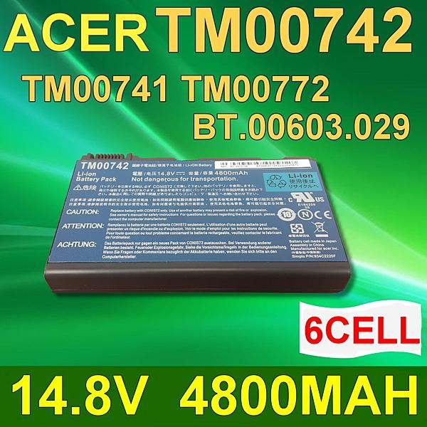 ACER 6芯 TM00742 日系電芯 電池 Extensa 5120 5210 5220 5420 5430 5620G 5620Z 5630 5630G 7220 7620 7620G