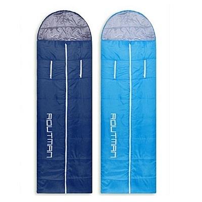 睡袋(單人)快速收納-戶外露營舒適保暖可拼接登山用品2色71q2[時尚巴黎]