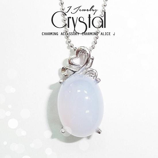春夏系  簡約氣質小白玉隨天然水晶項鍊