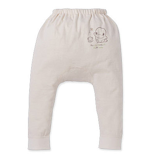 【奇買親子購物網】酷咕鴨KU.KU. 春夏有機純棉長褲