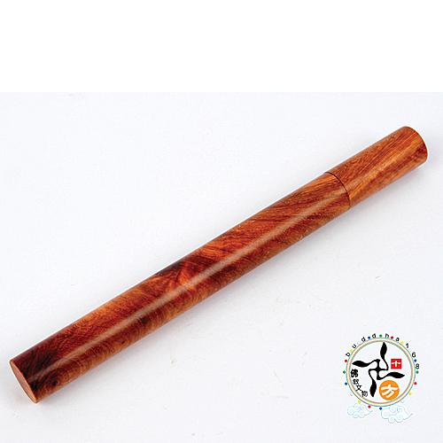印尼伊利安沉香臥香7吋+花梨木香筒 【十方佛教文物】
