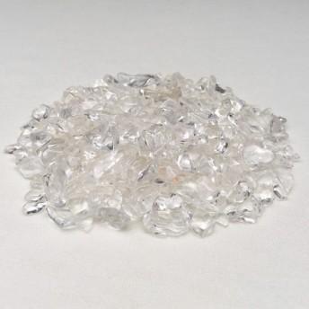 マニカラン産ヒマラマ水晶さざれ石・パワーストーンブレスレット浄化用/100グラム