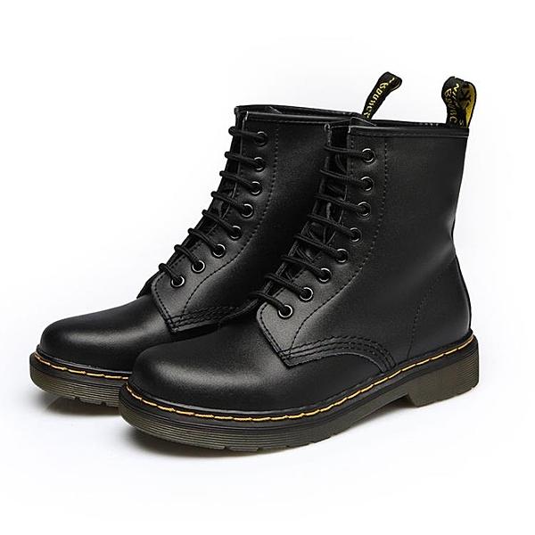 新款馬丁靴女短靴英倫風學生韓版百搭機車單靴子春秋季冬chic