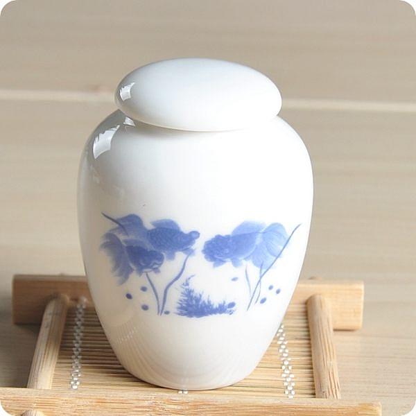 雅禮茶葉罐 (蘭彩年年有餘)