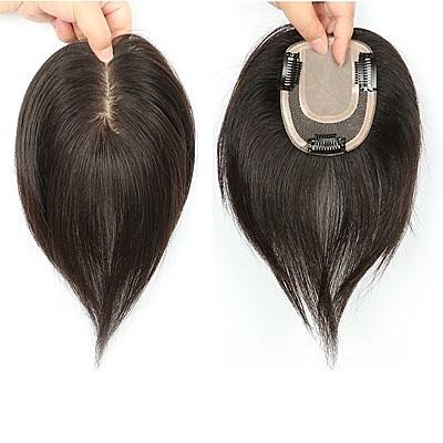 假髮片(真髮絲)-20cm直髮補髮片8x13cm內網女假髮73us19【時尚巴黎】