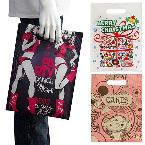 【客製化】 環保袋 A90-51100-108 全彩昇華便利袋 -- S 28x38cm