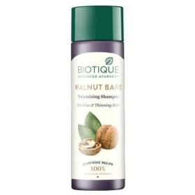 Biotique Bio Walnut Bark Body Building Shampoo 190 ml for Fine & Thinning Hair Biotiqueバイオクルミ樹皮ボディビルシャンプー
