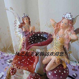 古典天使花仙子流水台空氣加濕器