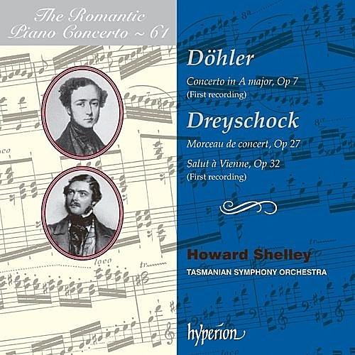 【停看聽音響唱片】【CD】浪漫鋼琴協奏曲第61集 - 杜勒 & 德萊修克