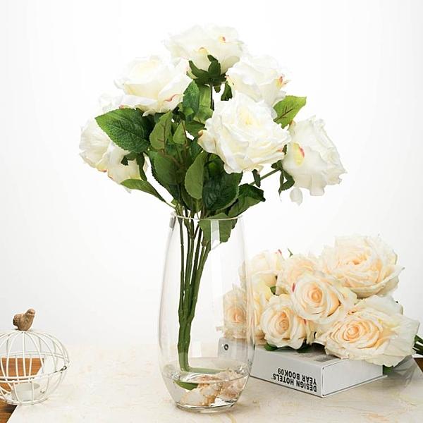 歐式時尚插花恐龍蛋造型花器彩色玻璃花瓶