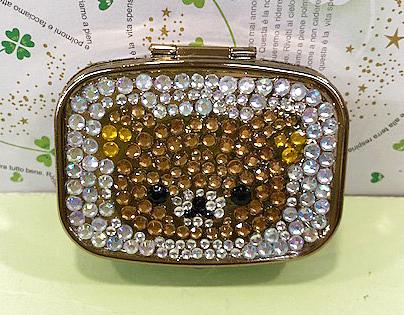 【震撼精品百貨】Rilakkuma San-X 拉拉熊懶懶熊~晶鑽飾品盒-哥哥#52913