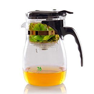 【世明國際】茶道杯 過濾可拆洗 玻璃泡茶壺 泡茶杯 750ml 多用途沖泡壺