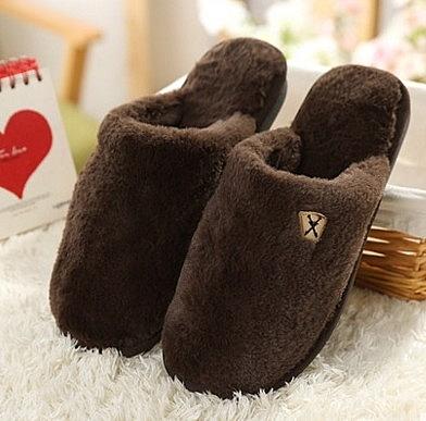 冬季 可愛 公主 室內 靜音家居 軟底保暖毛絨拖鞋