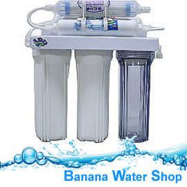 【Banana Water Shop】特價再享免運費送到家 檯下型 六道式簡易型過濾器