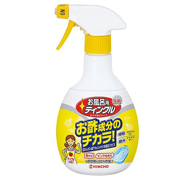 日本 KINCHO 金鳥 醋成分 浴室排水口除臭除菌洗淨劑400MLX1入