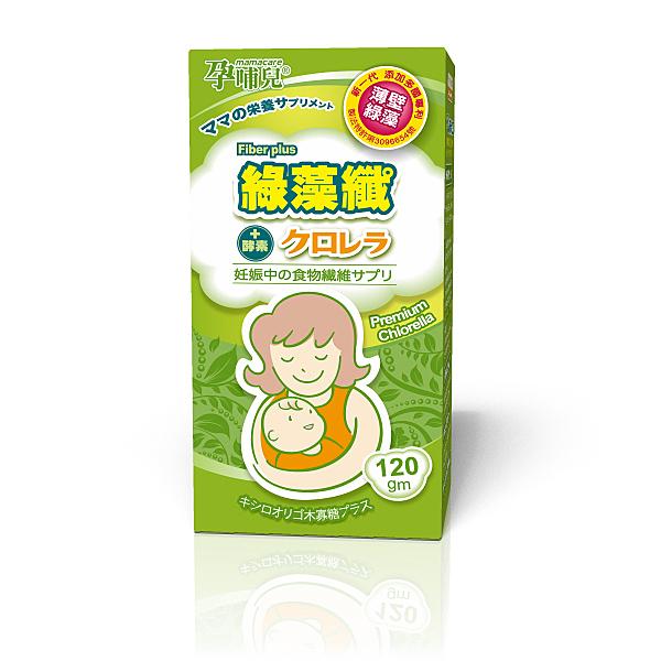 孕哺兒® 綠藻纖沖泡飲品120g/瓶【佳兒園婦幼館】