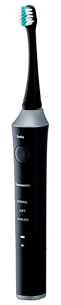 Panasonic【日本代購】 松下 音波震動 電動牙刷 Doltz EW-DA52 - 黑