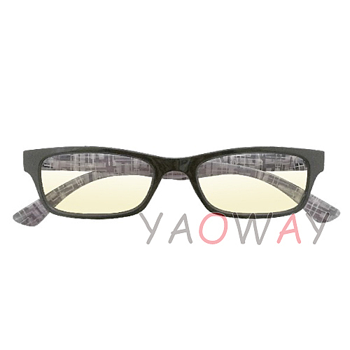 【耀偉】濾藍光眼鏡 浪漫騎士-黑BL1301B-BK