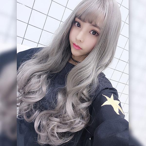 韓系高仿真 空氣瀏海 超美 耐熱 長捲髮 假髮【MA361】☆雙兒網☆