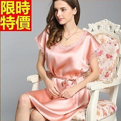 睡衣-真絲質知性花紋包邊桑蠶絲女居家服5色68g7【時尚巴黎】