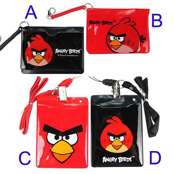 【卡漫城】 憤怒鳥 識別證 任選2入組 A款售完 ㊣版 Angry birds 車票悠遊卡電梯卡套 證件票卡夾